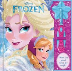 Disney Frozen – Magic Wand Book #disneyfrozen #disneyfrozenelsa #disneyfrozenanna