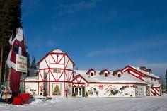 Где живут Деды Морозы - Резиденции Дедов Морозов разных стран