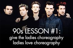 Backstreet Boys are the only exception for this rule.