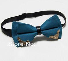 Men's Butterfly Bow Tie Butterflies Cravat Teal
