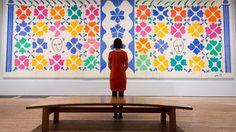 Matisse artwork collection displayed at Tate Modern | London - ITV News  行く前にネットで見てた写真が絵のみで小さい写真だったので、実際いってこんなに大きかったのかとびっくりした笑