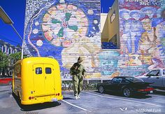 Parking Lot The Mission District, San Francisco By Mitchell Funk   www.mitchellfunk.com