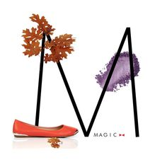 """Sometimes, running away means you're headed in the right direction."""" - Alice Hoffman #practicalmagic #INTOTOs #autumn #fallseason #flats #orangeflats"""