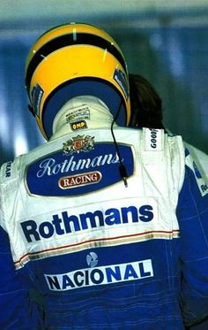 Senna at Williams - there was so much left undone for him and many more championships to win. #SennaLove
