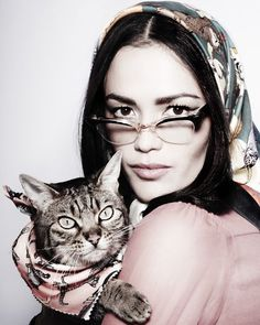 Crazy Cat lady needs a silk cat scarf please.  Cat to wear it can be supplied.