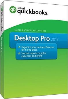 QuickBooks Desktop Pro 2017 Small Business Accounting Software [PC Disc] #quickenhomeandbusiness2017,