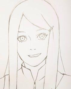 Naruto Sketch, Naruto Drawings, Anime Drawings Sketches, Cool Art Drawings, Naruto Art, Pencil Art Drawings, Anime Sketch, Anime Character Drawing, Drawing Cartoon Characters