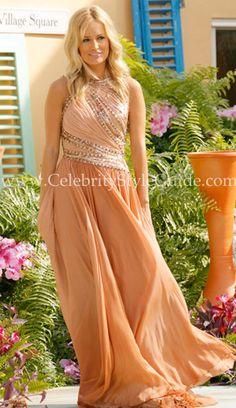 Emily Maynard Bachelorette Fashion: Emily Maynard's Bachelorette Finale gown is by the designer Jean Fares.