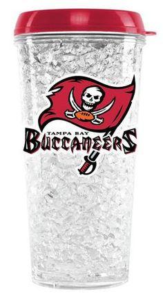 Tampa Bay Buccaneers Crystal Freezer Tumbler #TampaBayBuccaneers