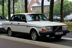 Volvo 240 With Foglamps