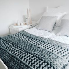 Image result for chunky blanket