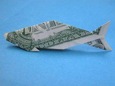 Fish Money Origami