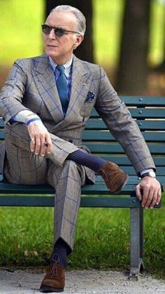 Older Mens Fashion, Best Mens Fashion, Mens Casual Suits, Mens Suits, Gents Fashion, Suit Fashion, Sharp Dressed Man, Well Dressed Men, Old Fashioned Hairstyles