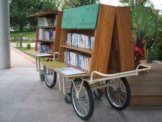 drive the bookmobile