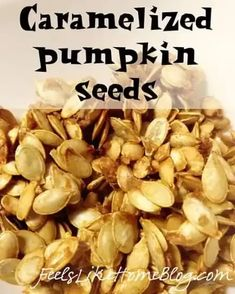 The best simple and easy roasted pumpkin seeds. This sweet and sugary recipe uses butter and cinnamon for the perfect crunchy snack. Seasoned and baked in the oven. How to make and eat unshelled pumpkin seeds. Pumpkin Seed Recipes Baked, Flavored Pumpkin Seeds, Baked Pumpkin, Perfect Pumpkin Seeds, Sweet Pumpkin Seeds, Roast Pumpkin, Pumpkin Spice, Oven Roasted Pumpkin Seeds, Sugar Pumpkin