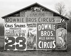 circus-billboards-1936-vintage-photo