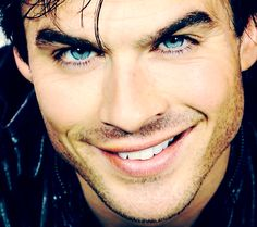 Ian Somerholder....it's always been about the eyes :)