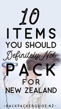 Things you don't need to pack for a trip to New Zealand. While there are many packing lists out there for things you need to pack for New Zealand, what about the things you don't need to pack? You can save a lot of space in your luggage knowing that there are a few items that you think you may need but definitely don't need when travelling New Zealand. We'll go through it all in this list of what not to pack for New Zealand.