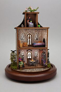 Good Sam Showcase of Miniatures: Dealers: Bruce & Judy Steinke, BJ Miniatures - Quarter-scale kits and more