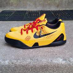 Bruce Lee Custom Sneakers #BruceLee #Kobes