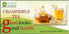 Chamomile Tea Benefits, Dietitian, Make It Simple, Health, Easy, Health Care, Salud