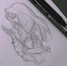 How do people draw hair so perfectly?!