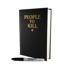 People To Kill Sketchbook