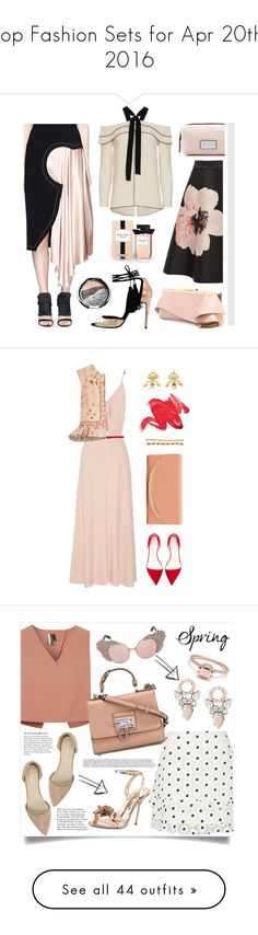 """""""Top Fashion Sets for Apr 20th, 2016"""" by polyvore ❤ liked on Polyvore featuring Roksanda, Massimo Dutti, Emanuel Ungaro, Proenza Schouler, Marc Jacobs, Chantecaille, Sans Souci, The Row, Marni and Etro"""