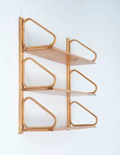 Alvar Aalto Wall-Mounted Shelves 5