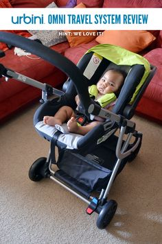 Review Loving The Urbini Omni Baby Travel System Boy Car Seats Systems