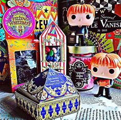 Favorite Wizarding treat is Fizzing Whizbees the chocolate is creamy and theyre full of Fizzing crunchy fruity bits! Theyre shaped like cute little bees and theyre so delicious. #hpfavouriteschallenge #treat #wizardingworldofharrypotter #funkopop #harrypotter