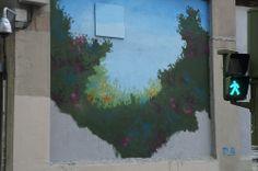 """El Muro de Dingo en el Proyecto """"Muros"""".#ArteTabacalera Promoción del Arte #ArteUrbano #StreetArt Madrid.Día4 #Arterecord 2014"""
