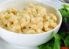Light Creamy Stove Top Macaroni & Cheese Recipe