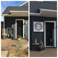 Trellis to hide meter box on porch