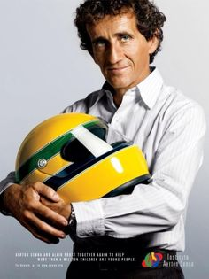 a lovely advertisement for the Ayrton Senna Institute....very touching!