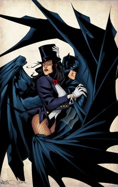 Zatanna Batman Kiss | www.pixshark.com - Images Galleries ...