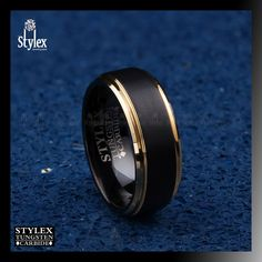 Price for 1Pc Epinki 8MM//6MM Tungsten Carbide Carbon Fiber Engagement Rings Size 8.5