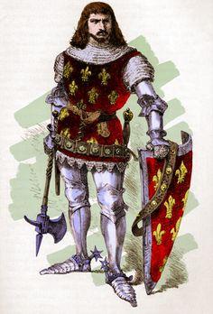 Le roi de France Jean II dit le Bon (1319-1364), fils de Philippe VI de Valois et second roi de la dynastie des Valois.