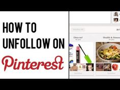 How to Unfollow on Pinterest | Pinterest Board: How to Unfollow #pinterest #socialmedia