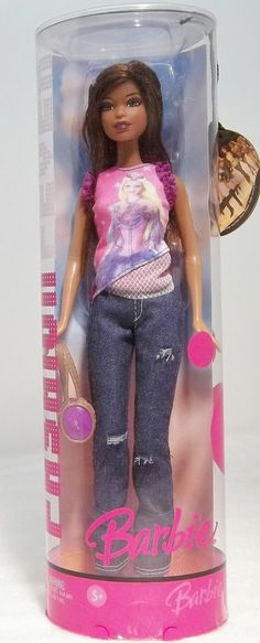 2006 Fashion Fever Barbie Doll w/ Blue Jeans Original Box Never Opened #J1383