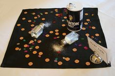 superstition party centerpieces