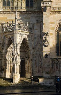Portal, Regensburg Cathedral, Bavaria