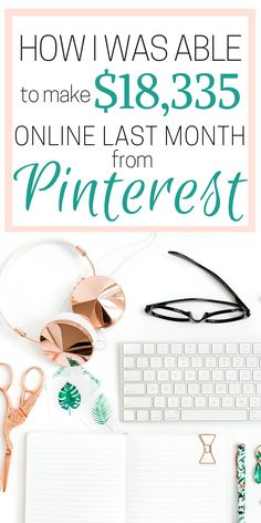 How she made over $18k in a month from working online is SO COOL! I'm so glad I found these AMAZING work from home tips! Now I have some great ideas on how to make money online and work alone! Definitely pinning!