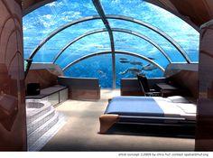 aquarium bedroom