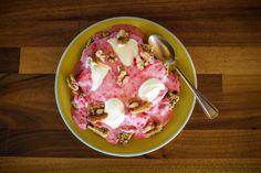 Low Carb Ideen - Quark mit Bifidus und Himbeeren, Crème Fraiche und Walnüssen - photography - food Ⓒ PASTELPIX