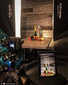A Famous BTS Magazine Feature: Very nice BTS @patricnadeau!! _____________________ Repost @patricnadeau: #photoshoot #studio #profoto #profotob1 #advertising #photography Repost @pier59studios: Stage  (Bottle Photography)