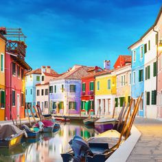 Burano Burano, Italy building color scene leisure Town neighbourhood street cityscape waterway infrastructure way travel