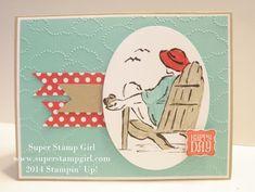 02/03/2014 Super Stamp Girl: Fab Friday Challenge Seaside Sketches