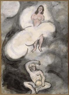 Creation of Eve - Marc Chagall