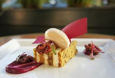 Beet Cake with Fromage Blanc Frosting & Toasted Walnuts